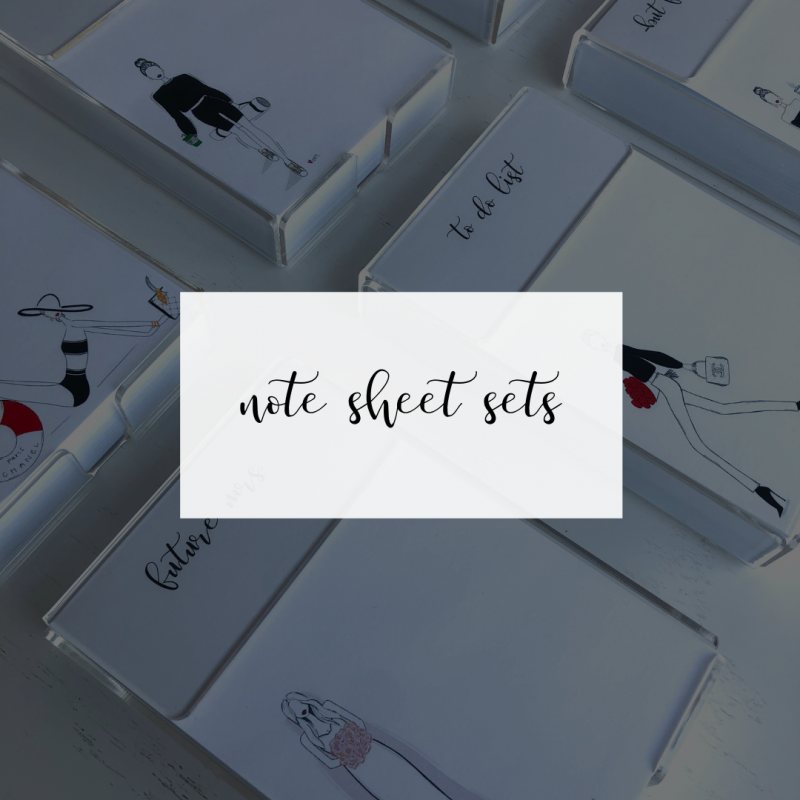 Note Sheet Sets
